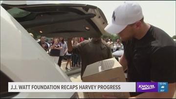J.J. Watt releases recap, plans for Harvey relief funds