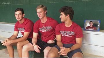 Four high-school athletes from Houston headed to Harvard to play baseball
