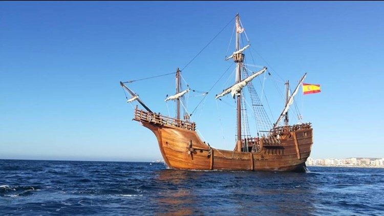 Tour tall ships Nao Santa Maria and Elissa in Galveston this weekend