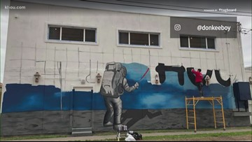 New giant murals can be found in Midtown