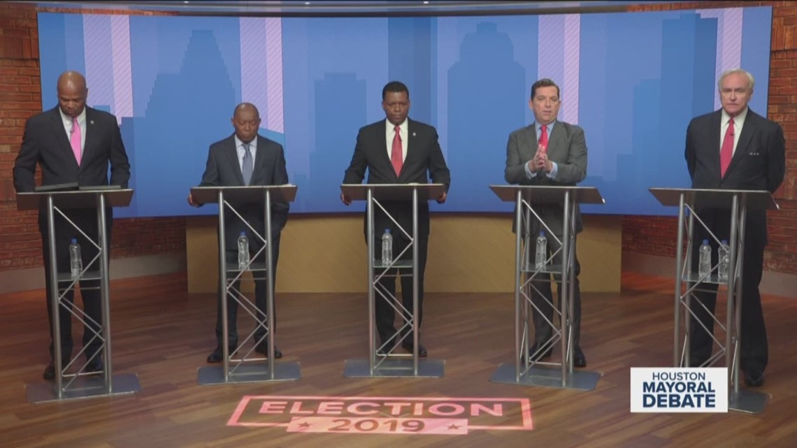 VERIFY: Fact-checking the Houston Public Media-KHOU 11 mayoral debate