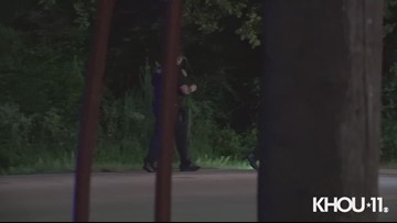 Raw Video: Man found shot dead in car driven off the road, deputies say