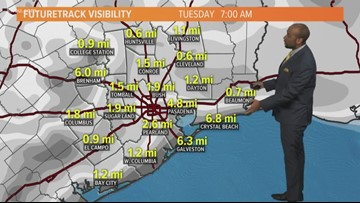 Houston Forecast: A Gray And Foggy Start To The Week