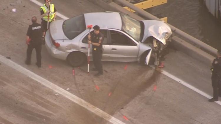 Car in San Jacinto River Crash