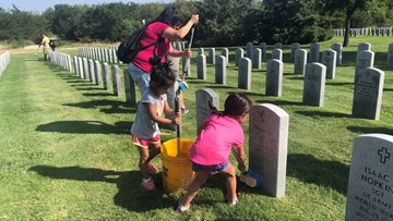 #PatriotDay: Volunteers needed on 9/11 to honor our heroes at Houston National Cemetery