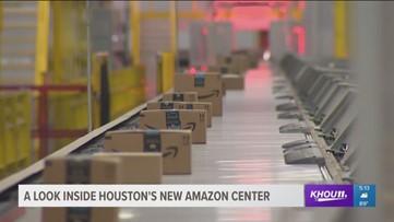 Inside look: Amazon's new Houston fulfillment center | khou com