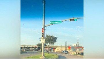 Oops! New street sign goes up with typo near Cypress