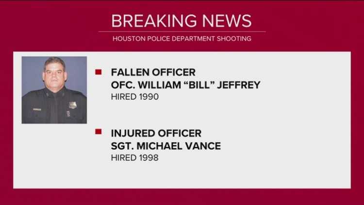 Team coverage: Houston police officer killed, another injured while serving warrant