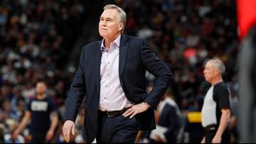 Rockets' Coach Mike D'Antoni hospitalized for intestinal virus