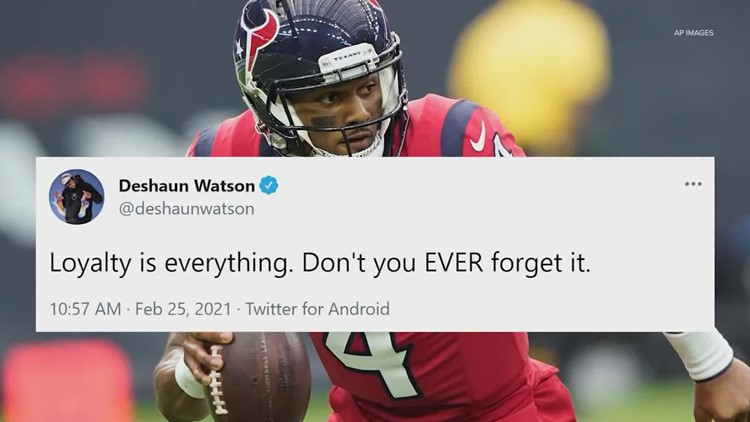 Report: Deshaun Watson meets with new Texans head coach, still wants out