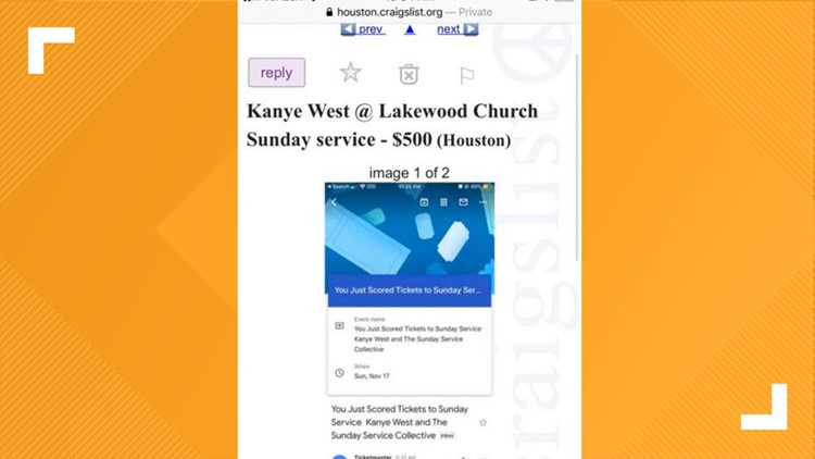 Kanye West tickets to Lakewood Church