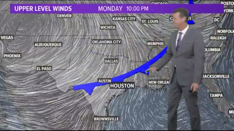Houston Forecast: Summer Weekend With A Few Scattered Showers