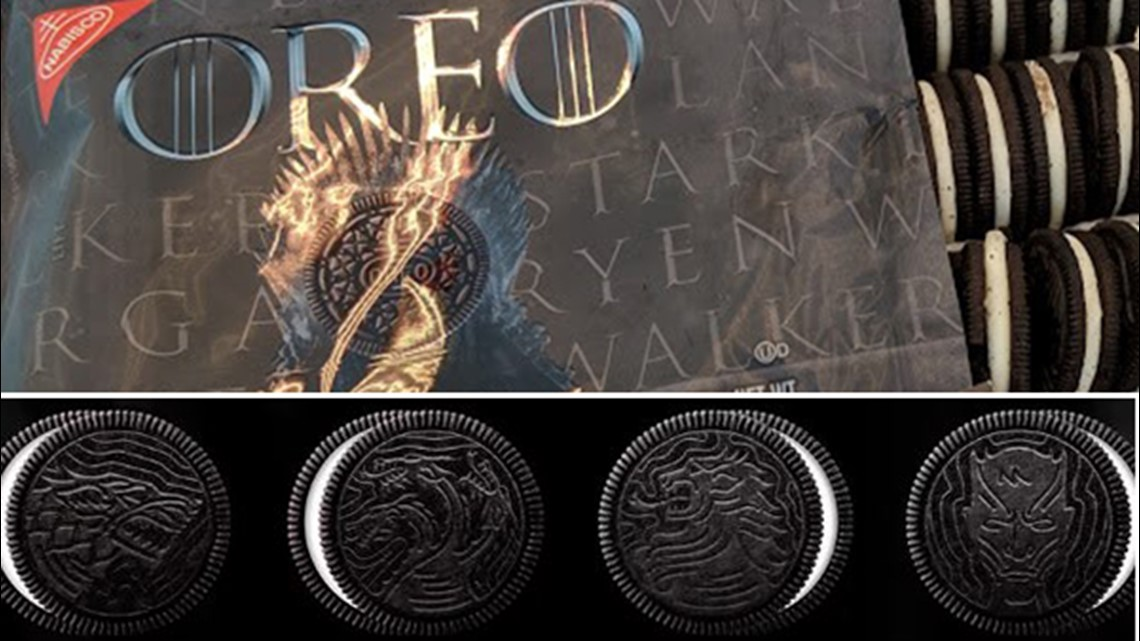 Oreo Unveils Game Of Throne Cookies Forthethrone And For The Win