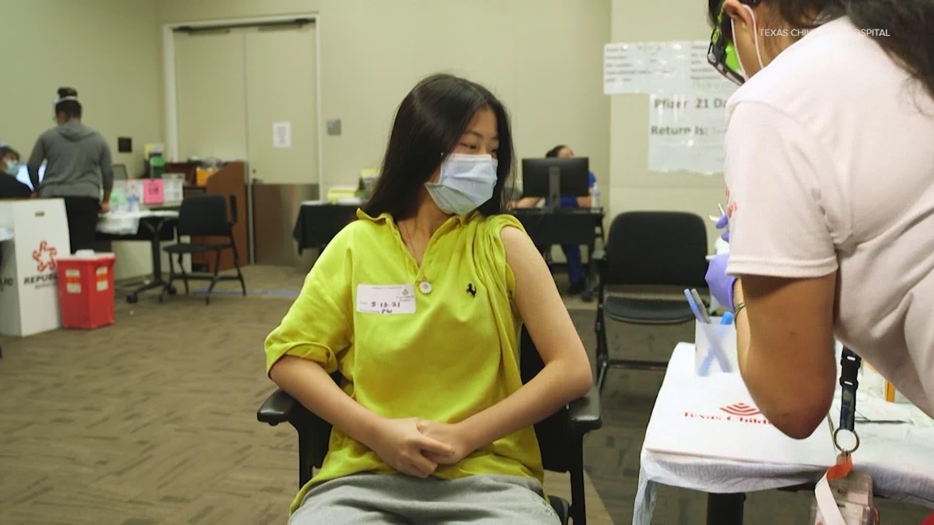 Doctors encourage teen vaccinations against COVID-19   khou.com