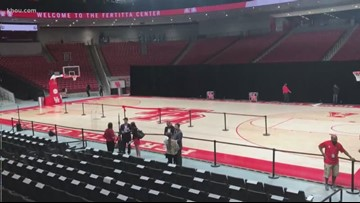 A look inside the brand new Fertitta Center