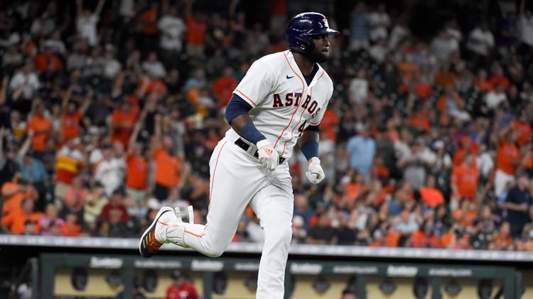 Yordan Alvarez hits 50th homer, Astros shut out Twins 4-0