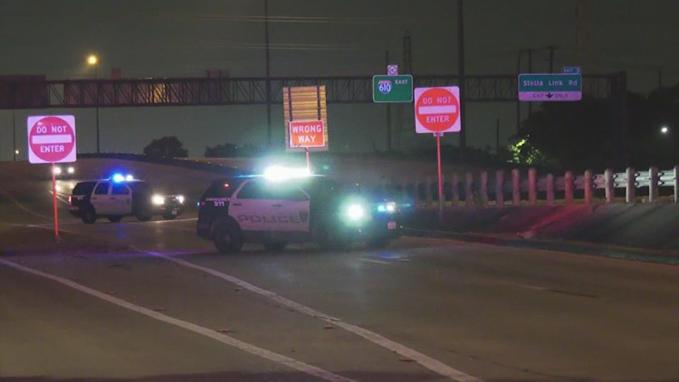 Stabbing victim found dead in the middle of 610 Loop frontage road
