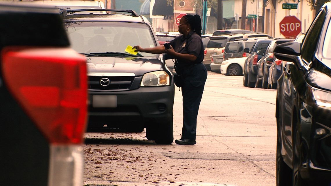 The top parking ticket hot spots in Houston