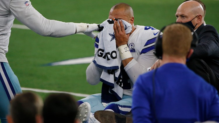 Cowboys QB Dak Prescott leaves game with gruesome right ankle injury vs. New York Giants
