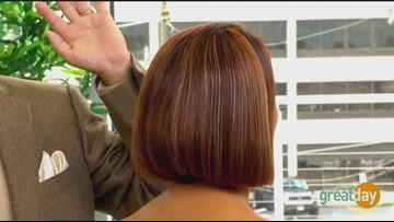"Where to get ""glass hair"" like Kim Kardashian"