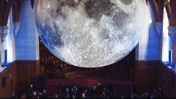 Massive moon sculpture coming to Houston, showing the lunar surface in 'stunning resolution'