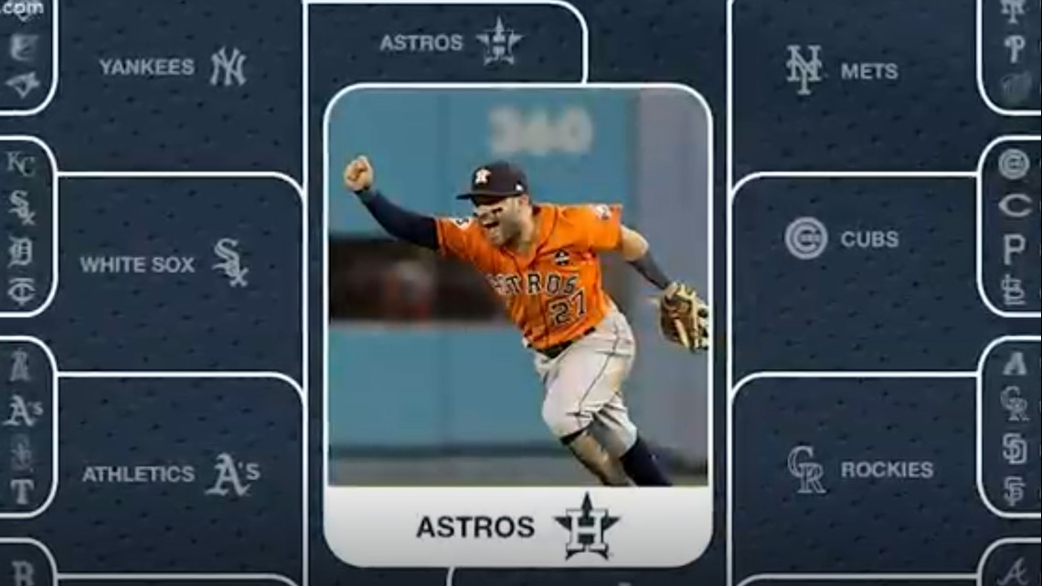Astros have the best uniforms in baseball, Twitter vote says