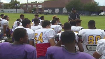Coaching boys into men: Local high school coach helping to fight domestic violence
