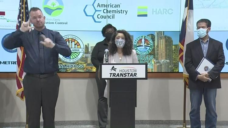 Harris County update on progress to ramp up environmental monitoring