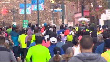 Believe it or not, runners are looking forward to chilly Houston Marathon