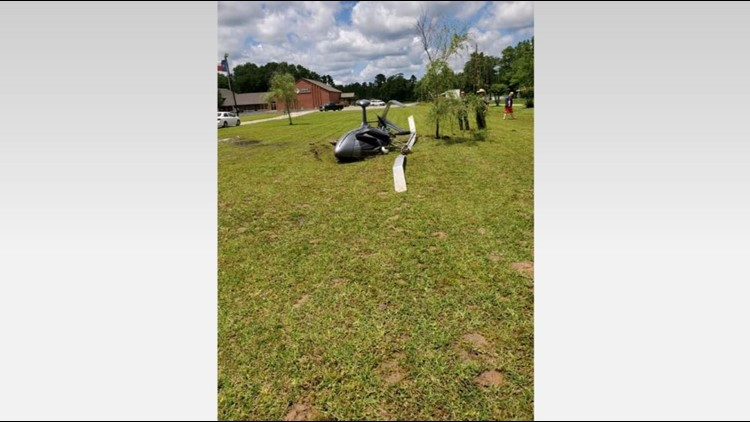 Helicopter crash in Montgomery County