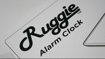 Ruggie Review: Rug with a built-in alarm clock