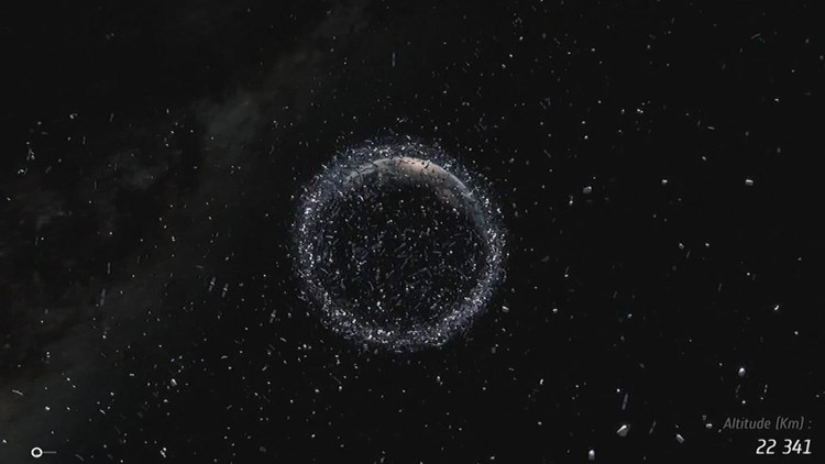 Space junk a growing concern for NASA astronauts