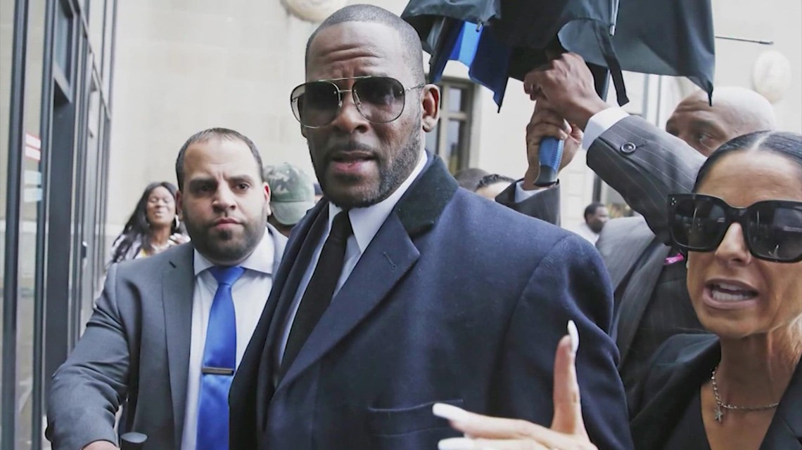 R&B singer R. Kelly convicted in sex trafficking trial