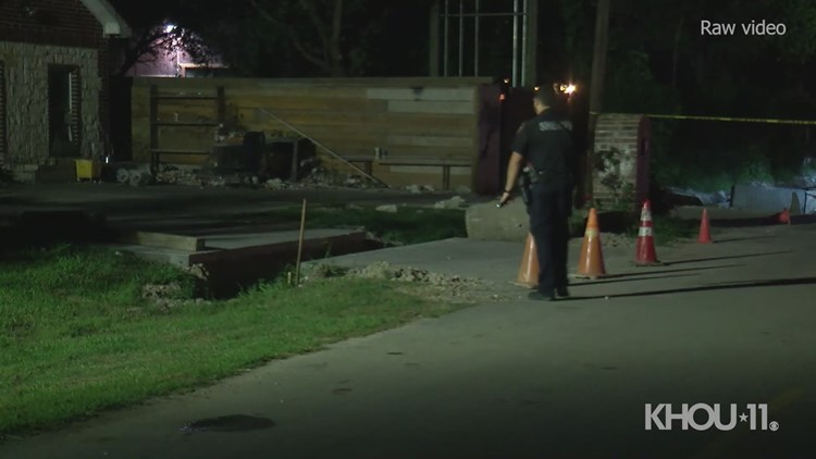 RAW: Adult, juvenile arrested after reported drive-by shooting in north Harris County, TX