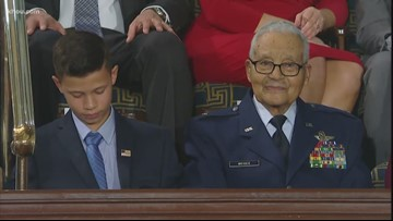 Surviving Tuskegee airman honored during Black History Month