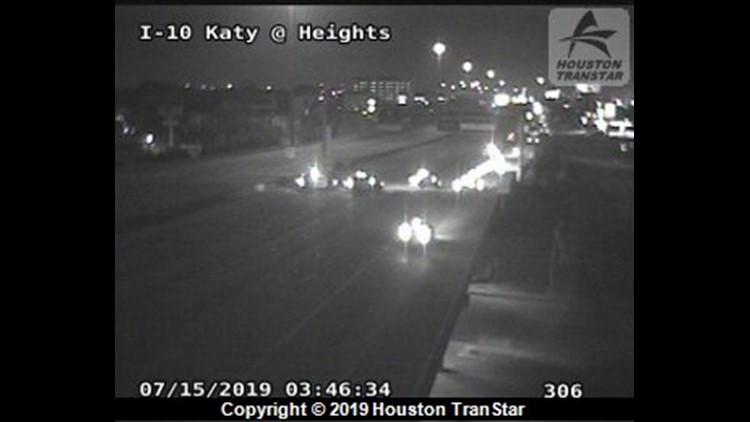1 killed when Jeep rolls on Katy Freeway   khou com