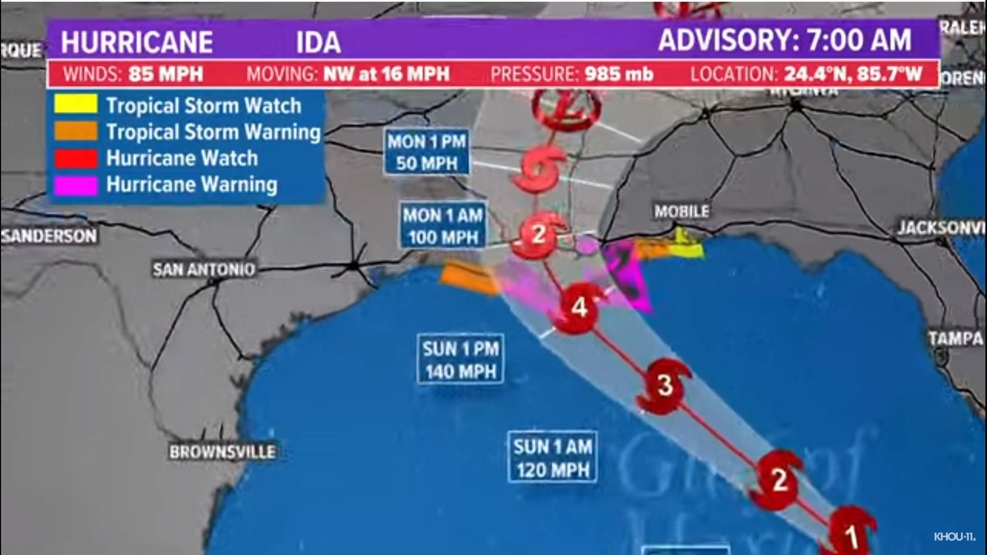 WATCH LIVE: Hurricane Ida approaches Louisiana