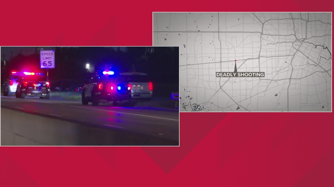 Man shot and killed while driving on Houston's Westpark Tollway