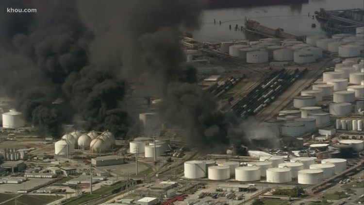 ITC hit with 5 criminal charges in connection with Deer Park chemical fire