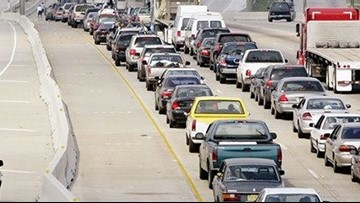 Another traffic headache on I-45 in Montgomery County this weekend