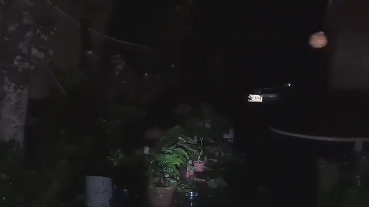 Resident records video as Hurricane Delta makes landfall near Cancún, Mexico before entering Gulf