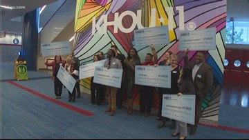 KHOU surprises 11 deserving groups with grants