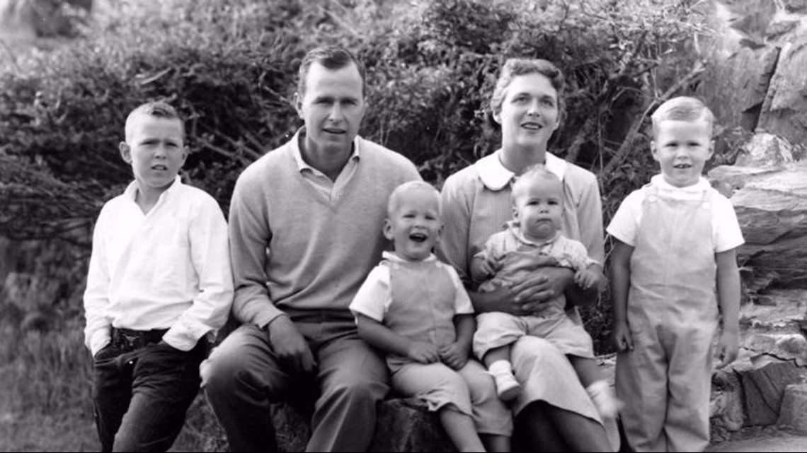 photos bush family album