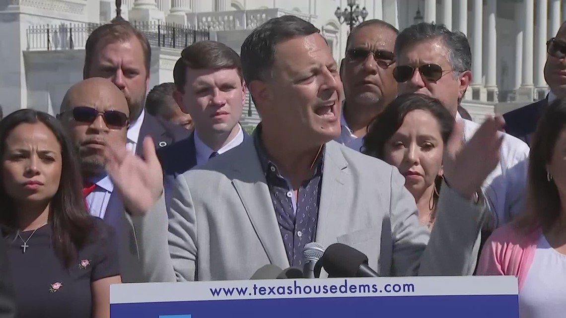 Texas House Democrats urge urge Congress to pass federal voting rights bills