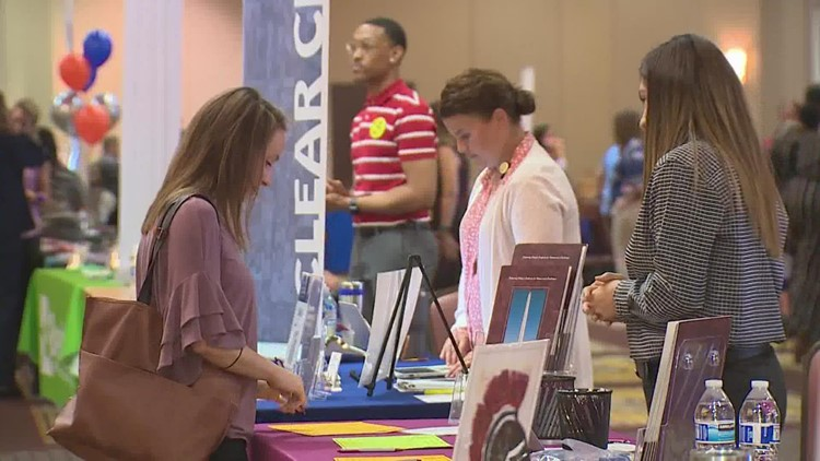 Houston-area school districts are scrambling to fill job openings ahead of the new semester