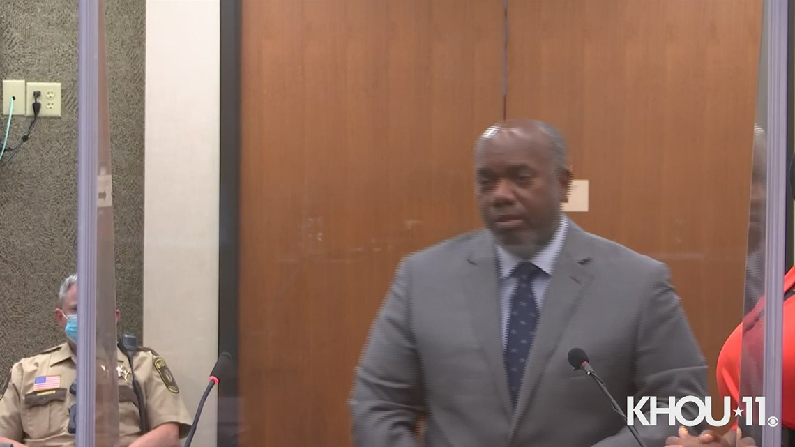 George Floyd's brother, Philonise, gives victim impact statement at Derek Chauvin sentencing
