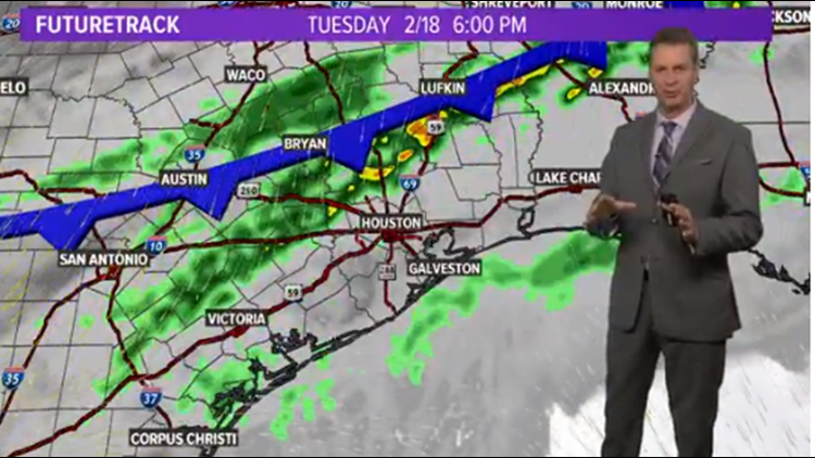 Houston Forecast: Another Strong Cold Front Is On The Way