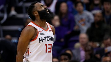 Rockets' James Harden named NBA Western Conference Player of the Month for December