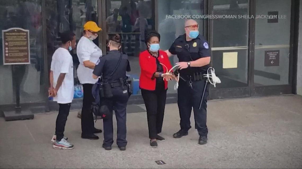 Houston Congresswoman Sheila Jackson Lee arrested in Washington D.C.