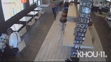 Caught on video: Suspected kidnapper tries to take child from McDonald's